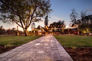 Casa Bella stone path