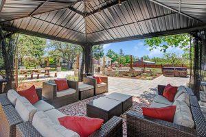 Casa Bella gazebo and patio furniture