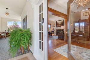 Casa Bella front door and porch